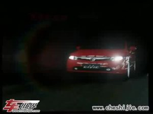 东风本田思域Honda Civic唯美广告