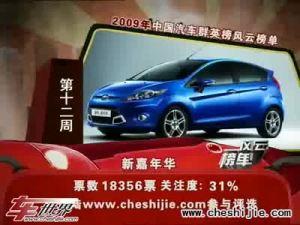 2009年中国汽车风云榜 标致207两厢亮相