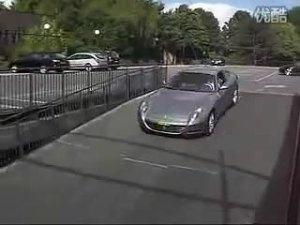 全铝猛兽银色法拉利612 Scaglietti