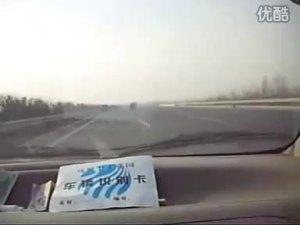 奇瑞QQ3跑长途时网友车内自拍视频