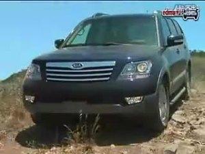 起亚豪华SUV霸锐不同路况行驶评测