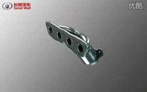长城炫丽1.5VVT发动机内部构造介绍1