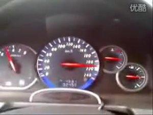 三菱汽车格蓝迪快速提速空打轮