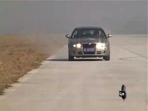 易车测试:荣威750S 1.8T制动测试