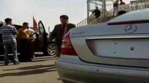 2010北京车展新车比亚迪E6展示