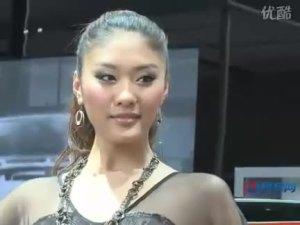 2010北京车展 克莱斯勒pt漫步者车模