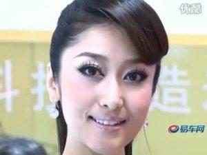 2010北京车展 江淮同悦rs甜美车模