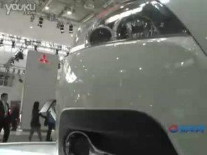 2010北京车展 白色江淮和悦车型