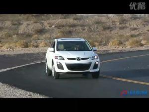 外媒试驾2010款白色马自达cx 7
