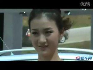2010广州车展 雷诺风景甜美车模