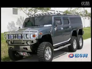 静态图片详细解析悍马H6重量级车型