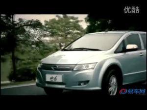 纯电动crossover 比亚迪e6 广告海外版