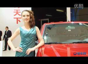 2011上海车展 广汽吉奥财运300车模