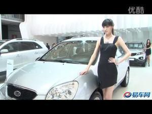 2011上海车展 起亚新佳乐车模楚楚动人