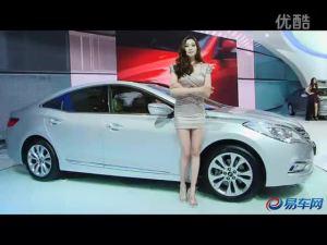 2011上海车展 现代雅尊气质靓模