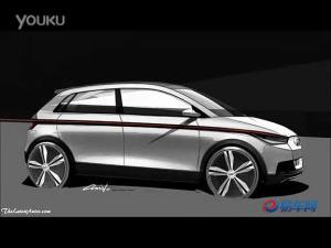 法兰克福车展奥迪发布A2概念车