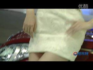 2011广州车展 北京现代索纳塔清纯车模