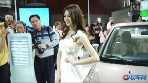 2011广州车展 天语尚悦车模美丽可爱