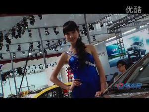 2011广州车展 海马福美来三清新车模