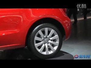 2011广州车展 红色奥迪A1闪亮登场
