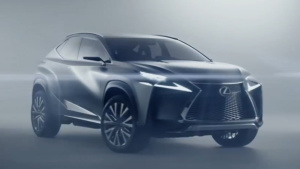 雷克萨斯LF-NX 概念车设计细节