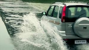 紧凑SUV众泰T200 乡村公路测试