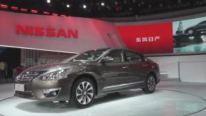 2013广州车展 日产全新天籁公爵版上市
