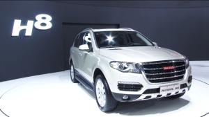 2013广州车展 哈弗H8进军豪华SUV市场