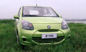 灵动小车 众泰Z100百公里油耗仅5.3L