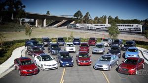 家庭集体试驾 测评12款最棒家用车