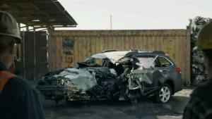 斯巴鲁汽车安全广告 他们还活着