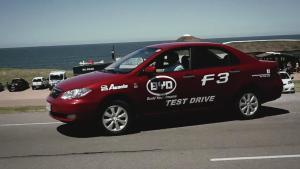 比亚迪F3动态体验 实现你梦想的座驾