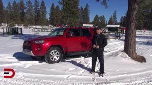 2014款丰田4Runner 雪地冰面深度试驾