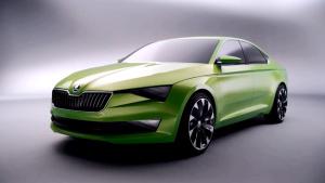 斯柯达VisionC概念车 整体外形设计前卫