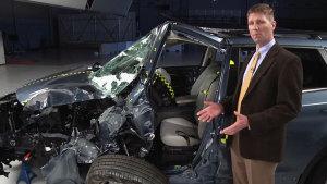 最严苛的测试 正面25%碰撞SUV篇