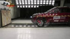 2014款JEEP大切诺基 正面碰撞测试
