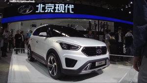 全新北京现代ix25 将配四驱系统