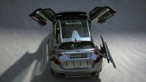 斯巴鲁VIZIV2概念车 外观超犀利