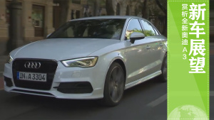 新车展望 多角度赏析全新奥迪A3