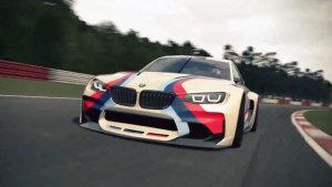 宝马Vision GT 专为赛车游戏打造
