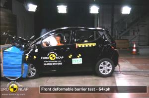 2014款现代i10 E-NCAP欧洲碰撞测试