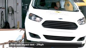 2014款福特全顺 E-NCAP碰撞测试