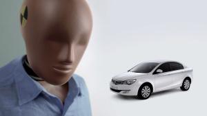2014款荣威350 获C-NCAP五星安全