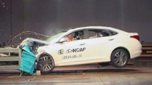 C-NCAP碰撞测试 北京现代名图荣获五星