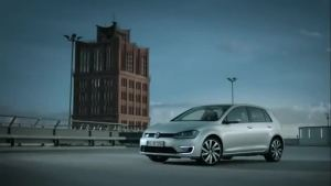 2014巴黎车展 新高尔夫GTE混动版将亮相