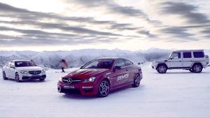 奔驰AMG雪场宣传片 冬季运动极致性能