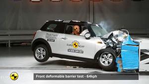 2015款MINI COOPER E-NCAP碰撞测试