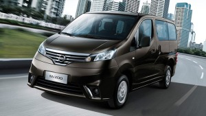 2015款郑州日产NV200 CVT国五车型上市