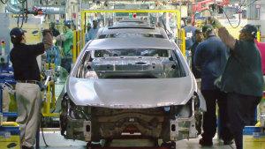 高科技化 深入探访现代汽车美国工厂