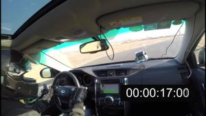 丰田锐志锐思圈速测试 单圈1分06秒2
